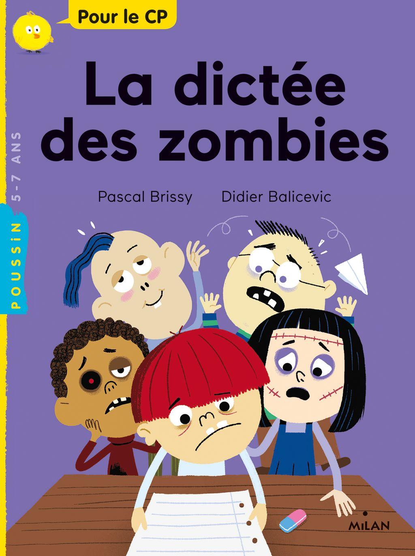 Couverture de «La dictée des zombies»