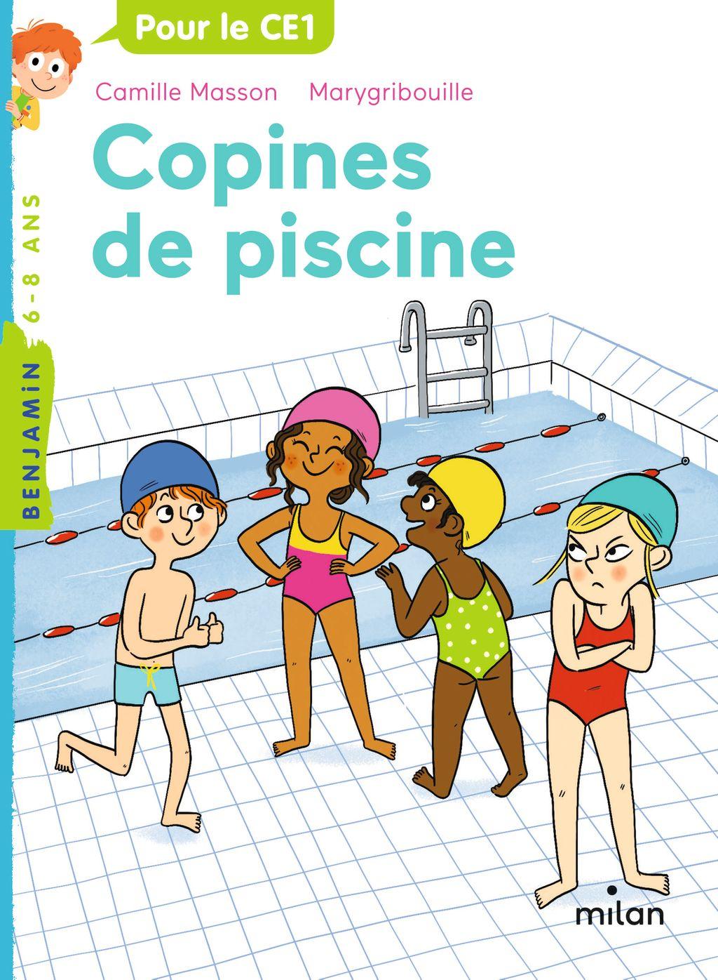 Couverture de «Copines de piscine»