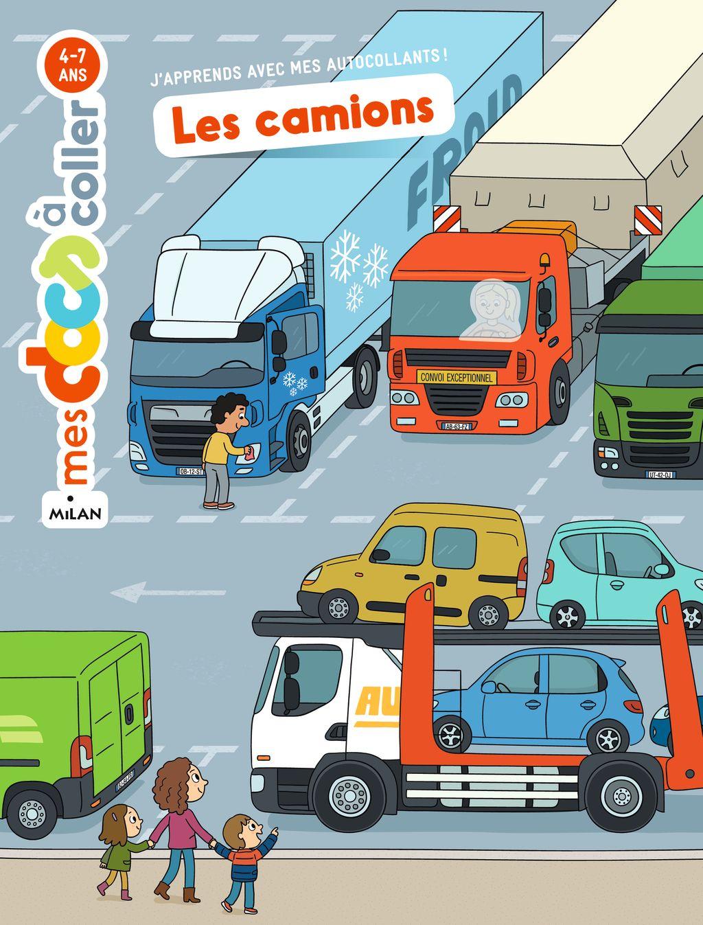 Couverture de «Les camions»