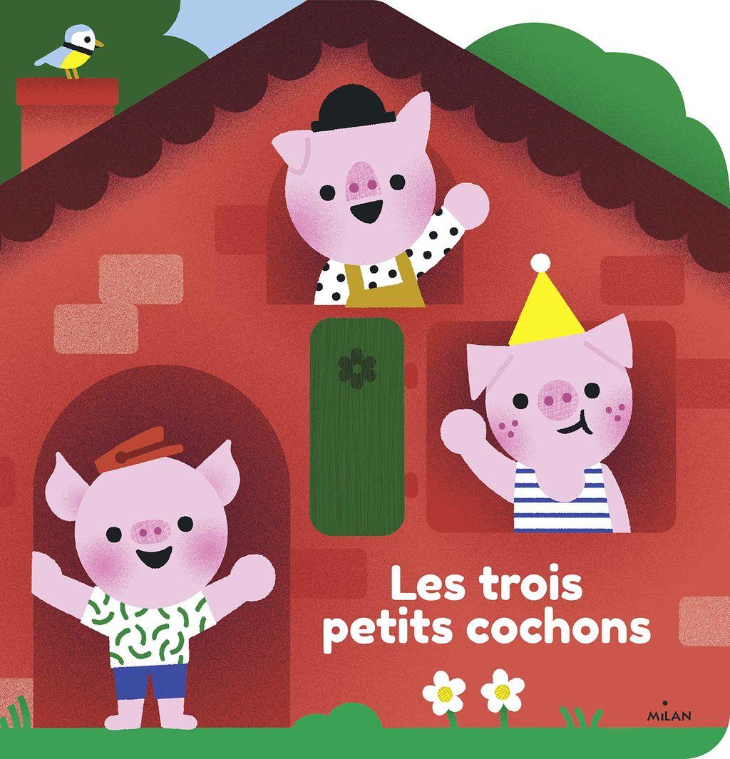Couverture de «Les trois petits cochons»