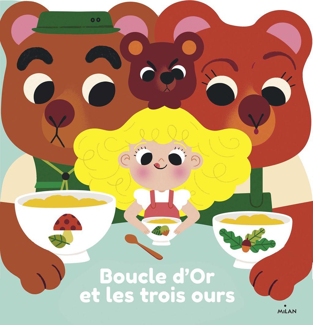 «Boucle d'or et les trois ours» cover
