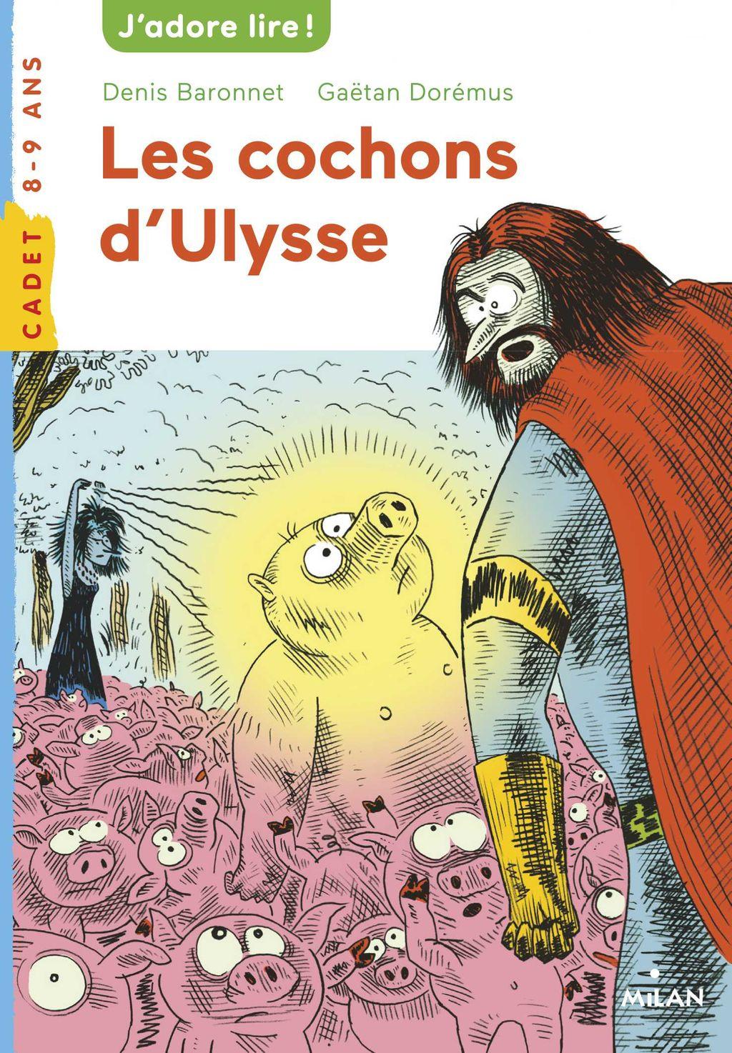 Couverture de «Les cochons d'Ulysse»