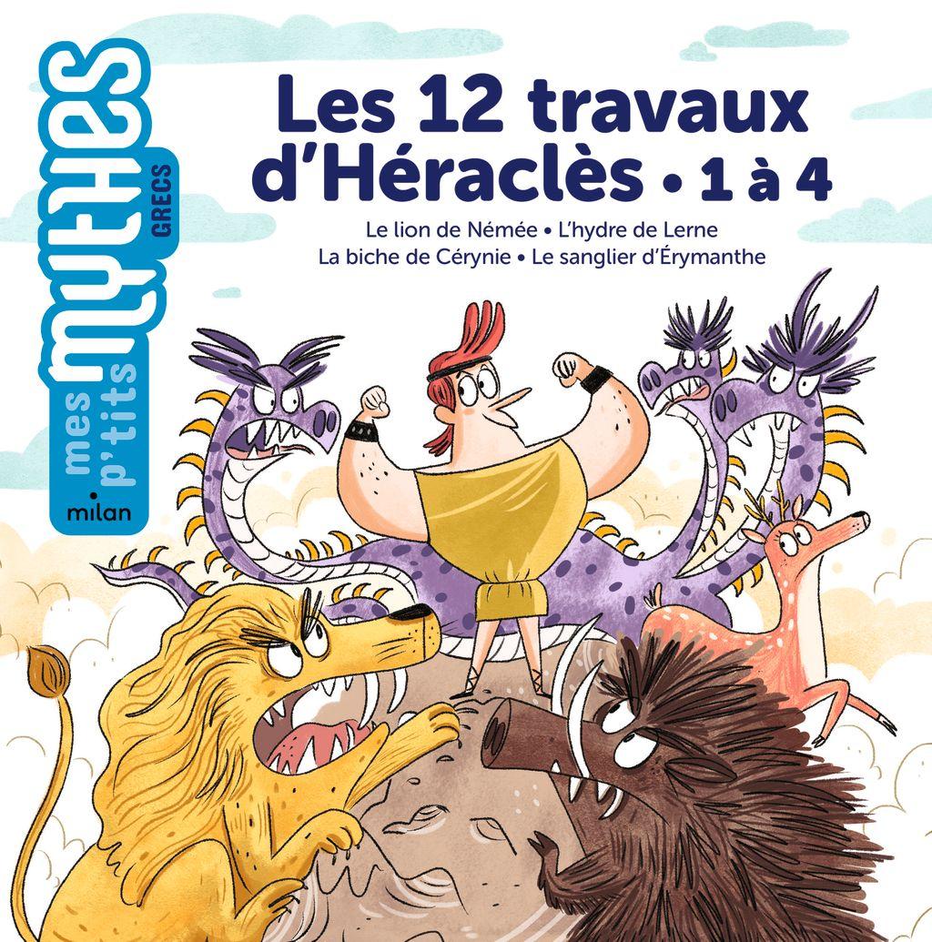 Couverture de «Les 12travaux d'Héraclès – 1 à 4»