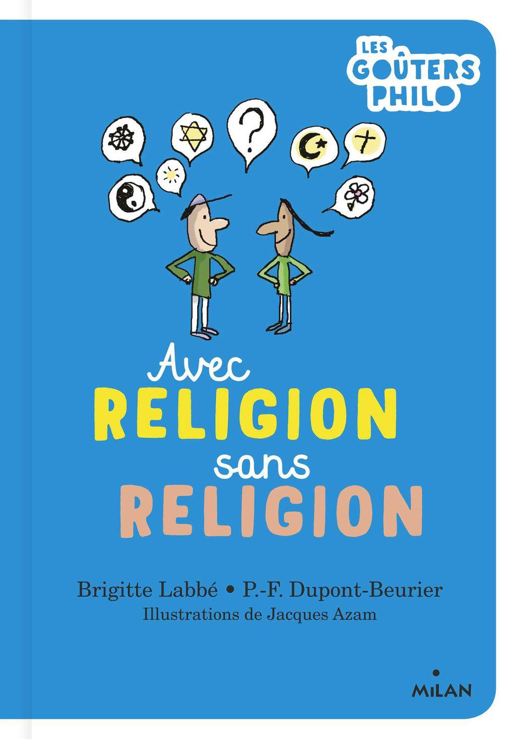 Couverture de «Avec religion, sans religion»