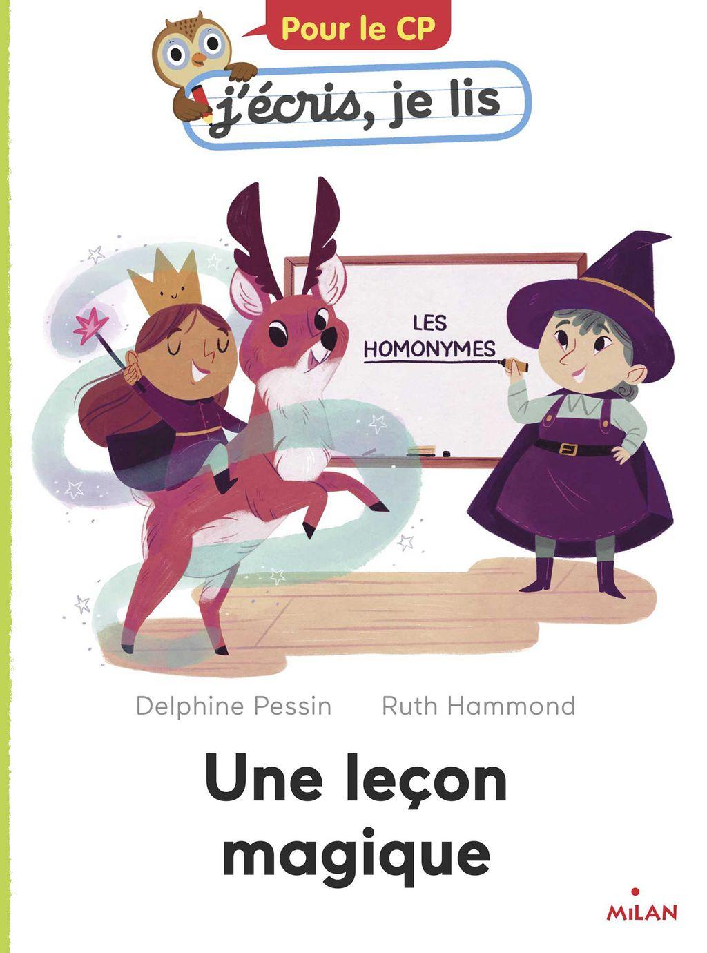 Couverture de «Une leçon magique»