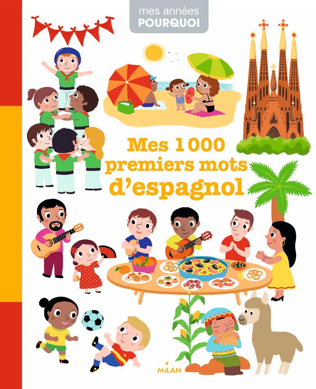 Couverture de «Mes 1000premiers mots d'espagnol»