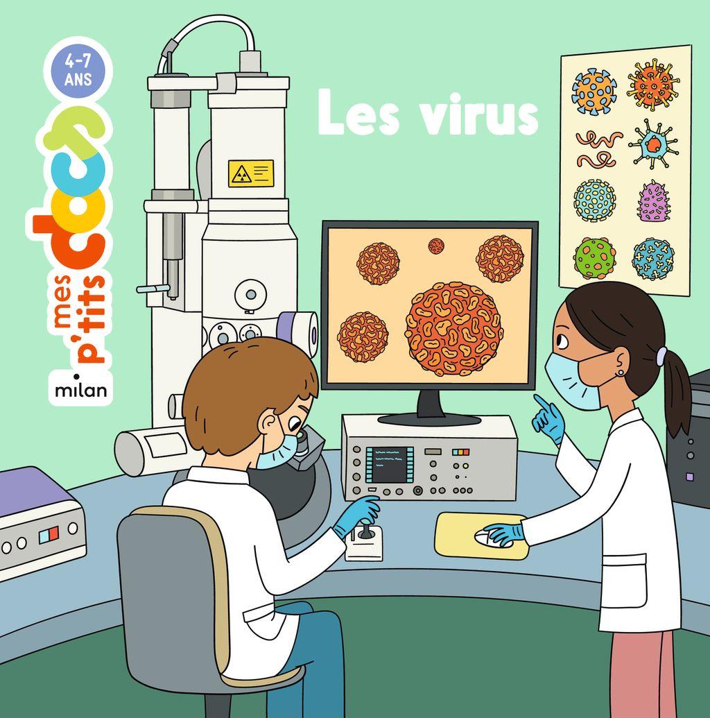 Couverture de «Les virus»