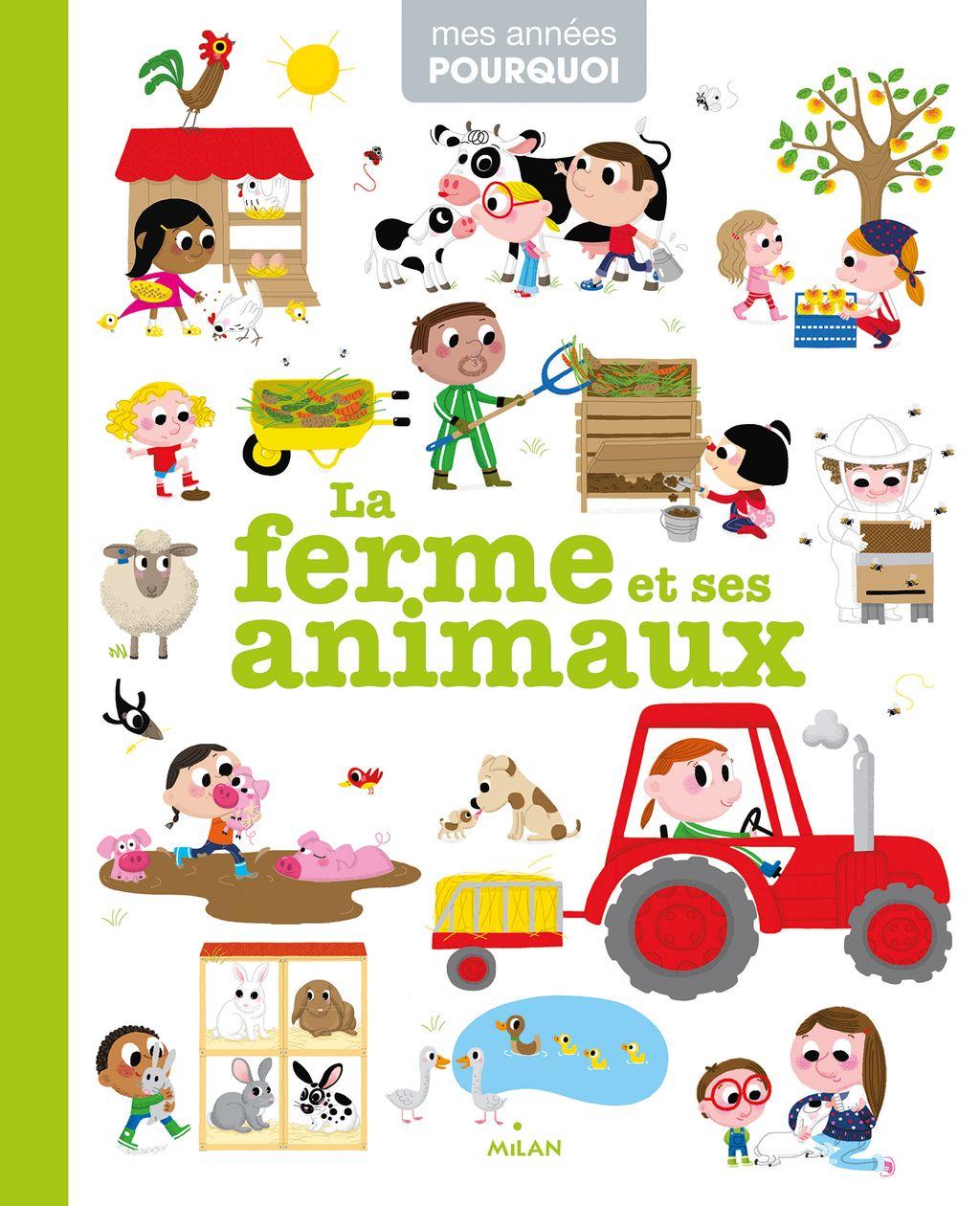 Couverture de «La ferme et ses animaux»