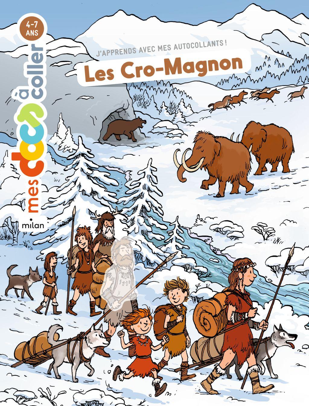 «Les Cro-Magnon» cover