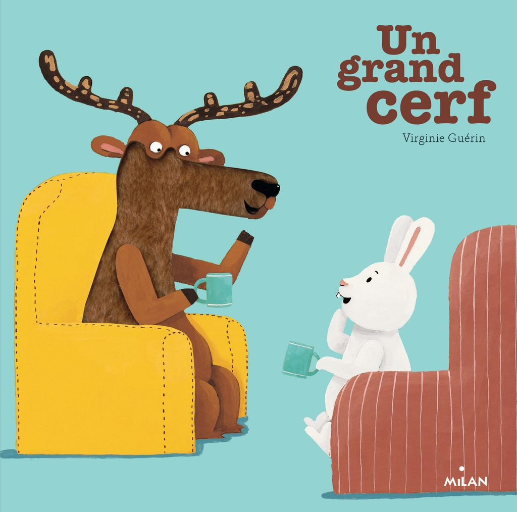 Couverture de « Un grand cerf »