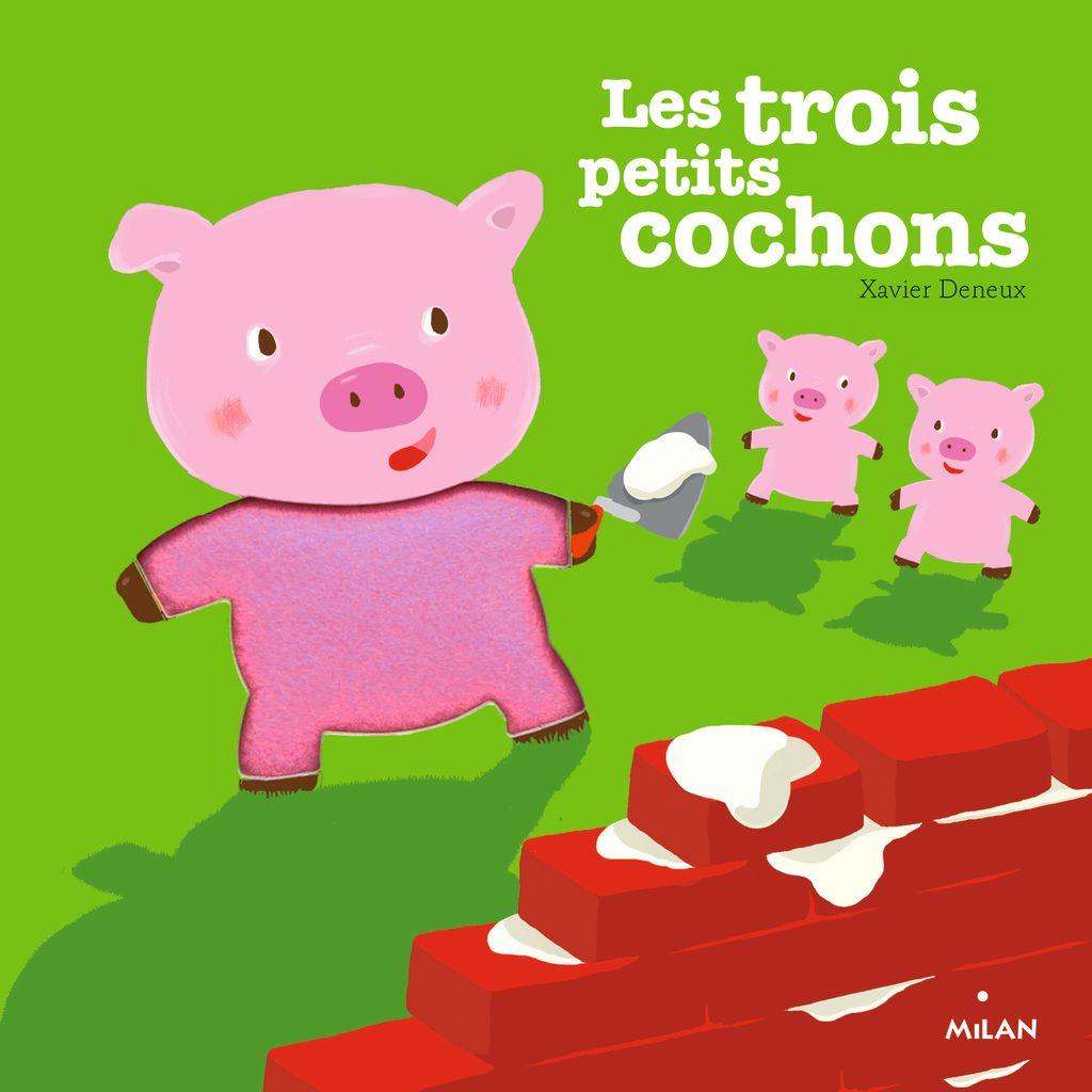 «Les trois petits cochons» cover