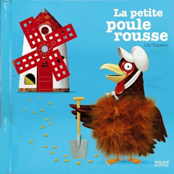 Couverture de «La petite poule rousse»