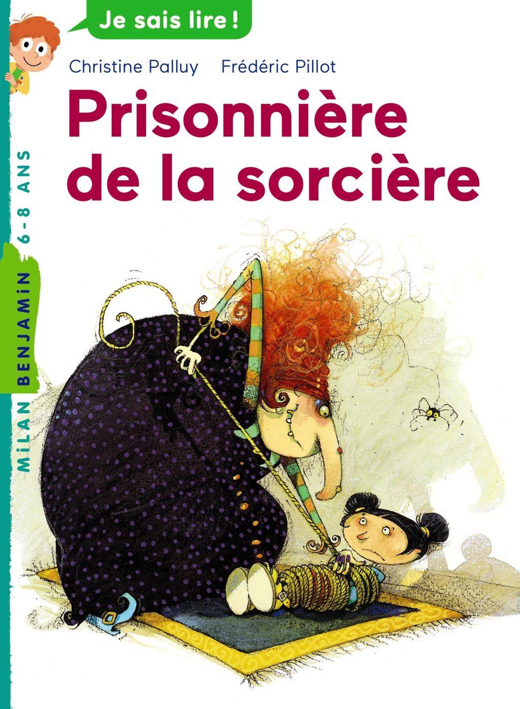 «Prisonnière de la sorcière» cover