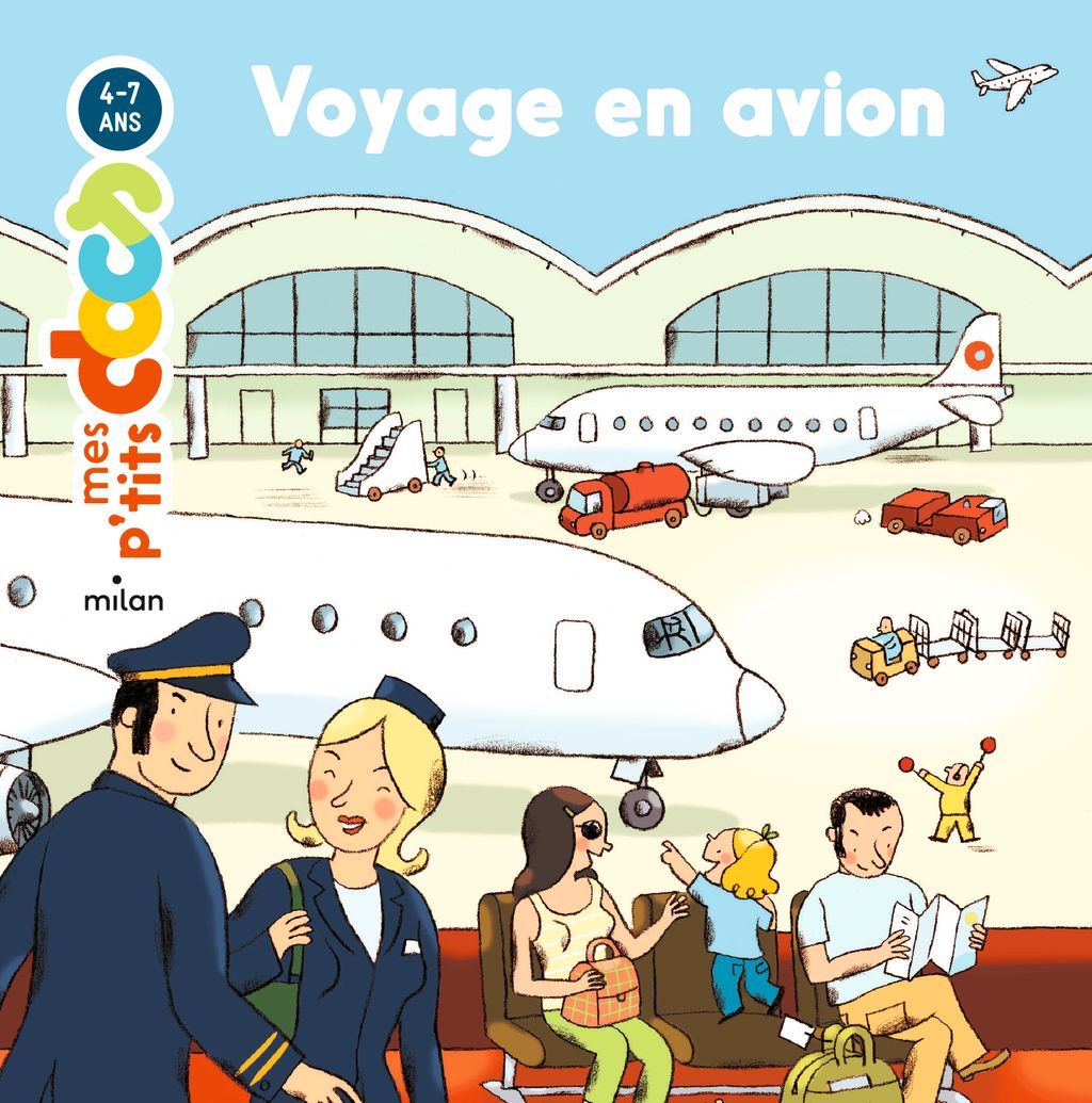 « Voyage en avion » cover