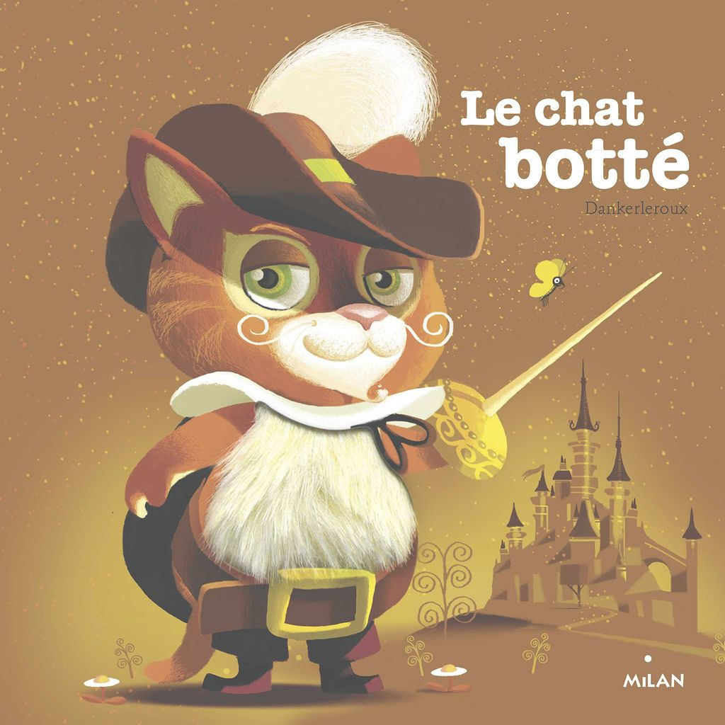 « Le chat botté » cover