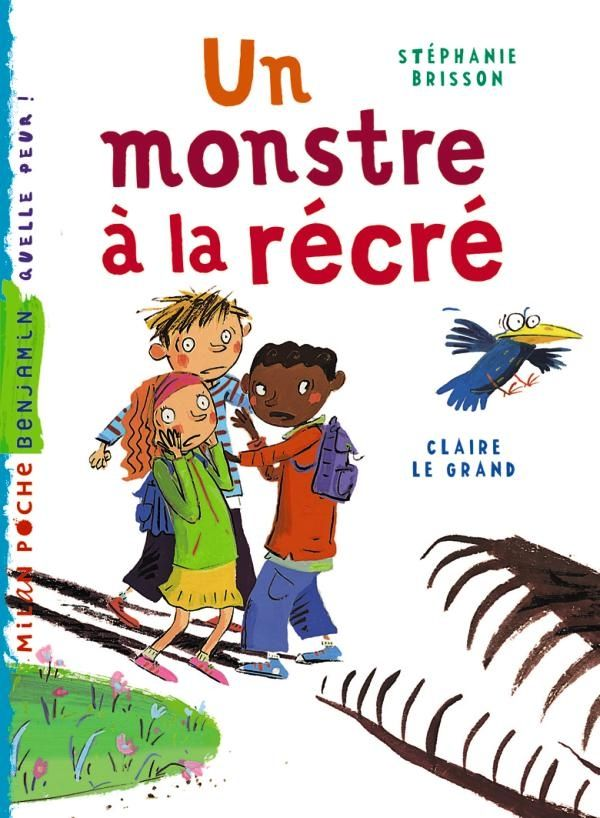 « Un monstre à la récré » cover