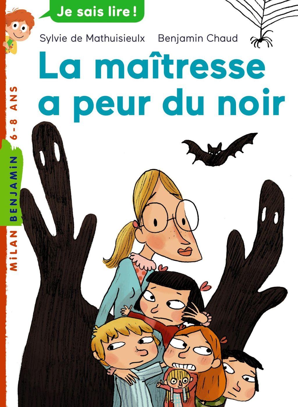 «La maîtresse a peur du noir» cover