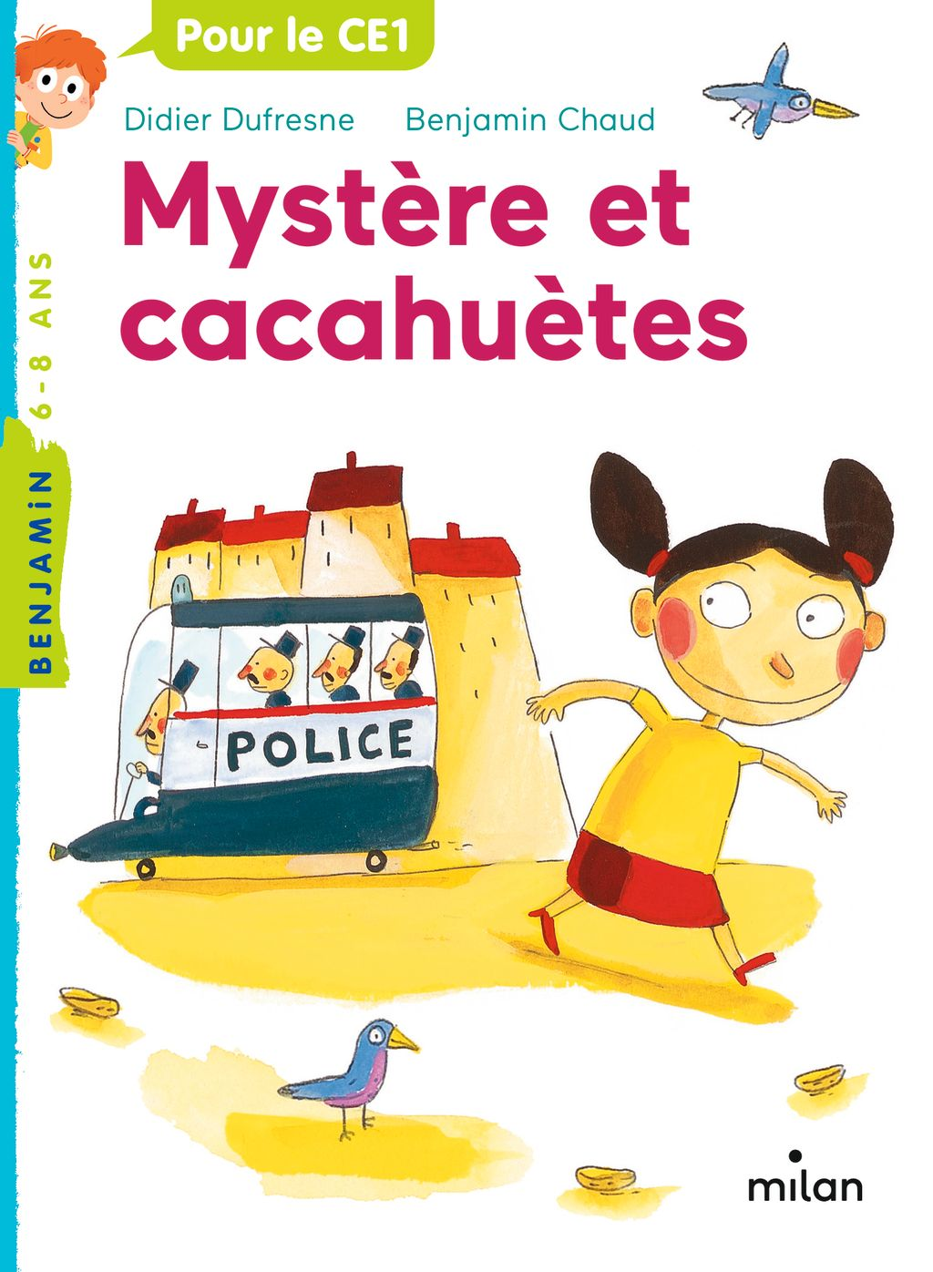 Couverture de «Mystère et cacahuètes»