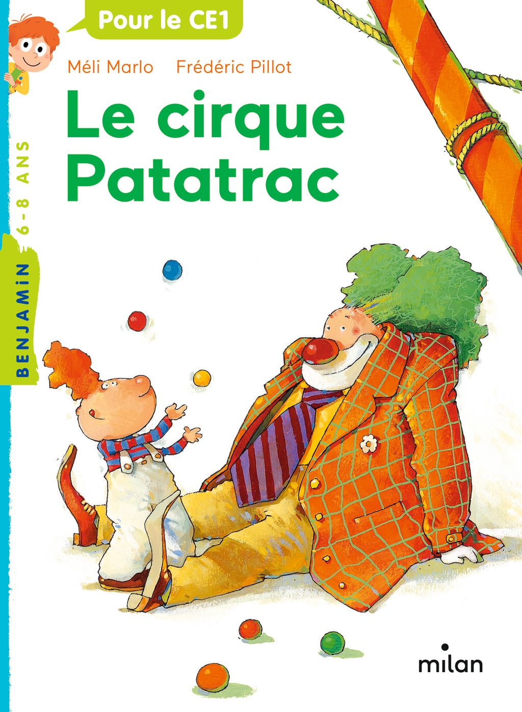 Couverture de «Le cirque Patatrac»