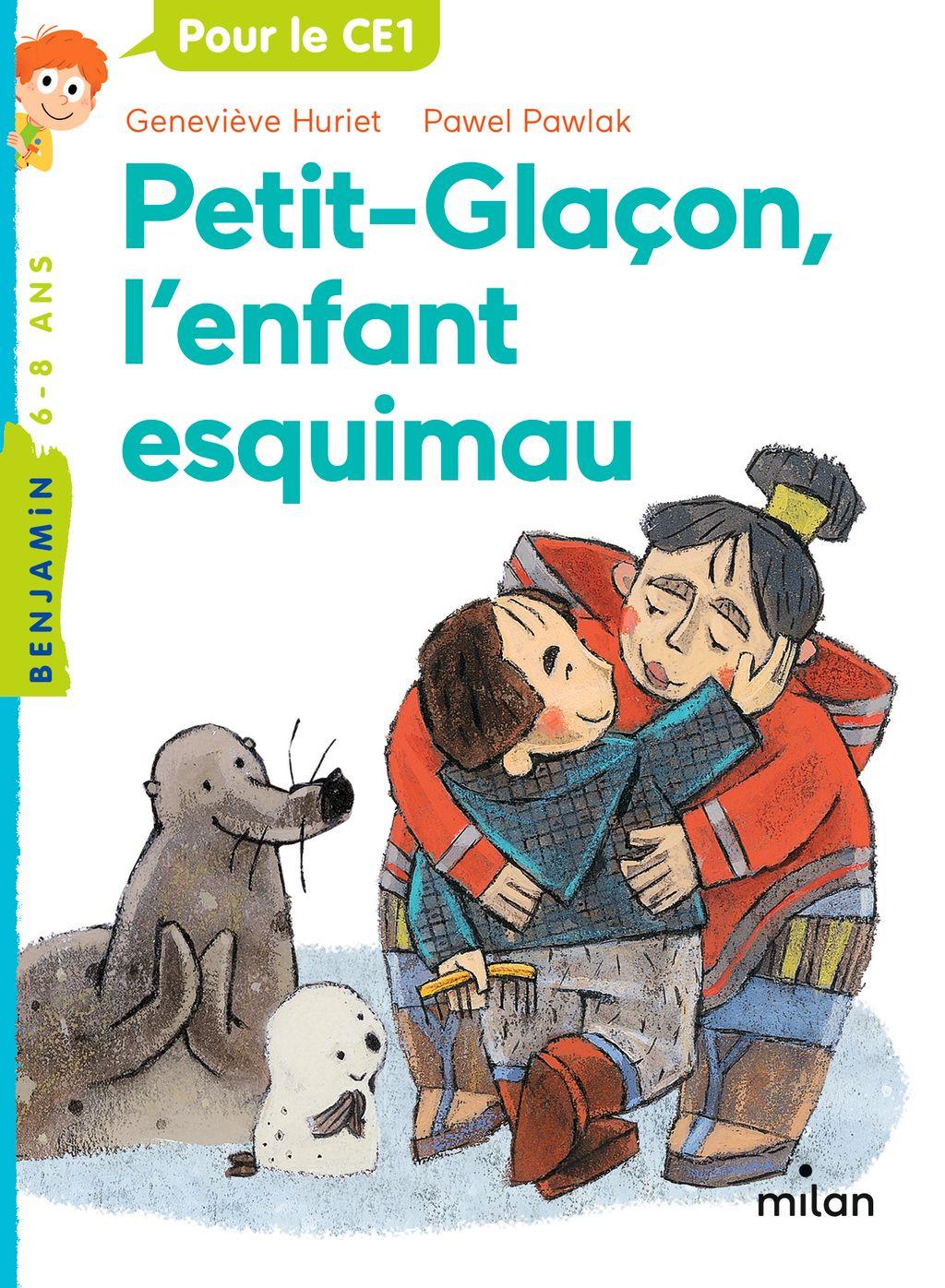 Couverture de «Petit Glaçon,  l'enfant esquimau»
