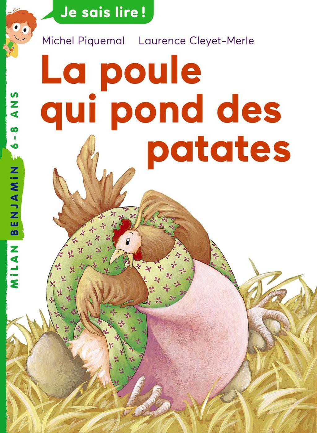 Couverture de «La poule qui pond des patates»