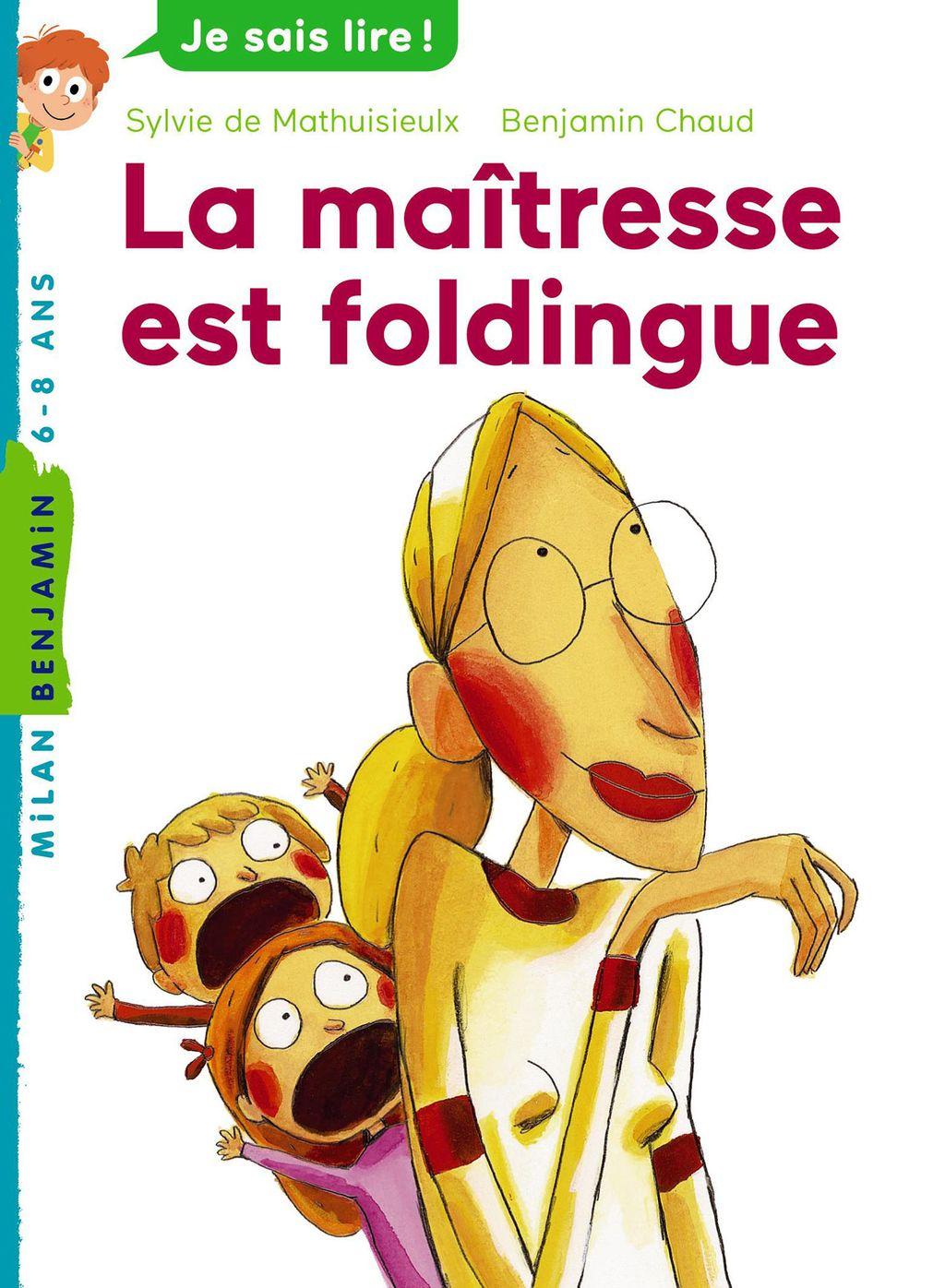 «La maîtresse est foldingue» cover