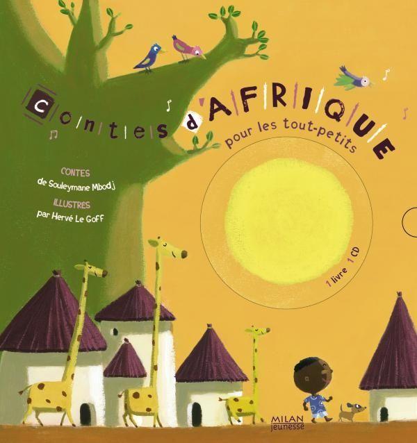 Couverture de «Contes d'Afrique pour les tout-petits + CD»