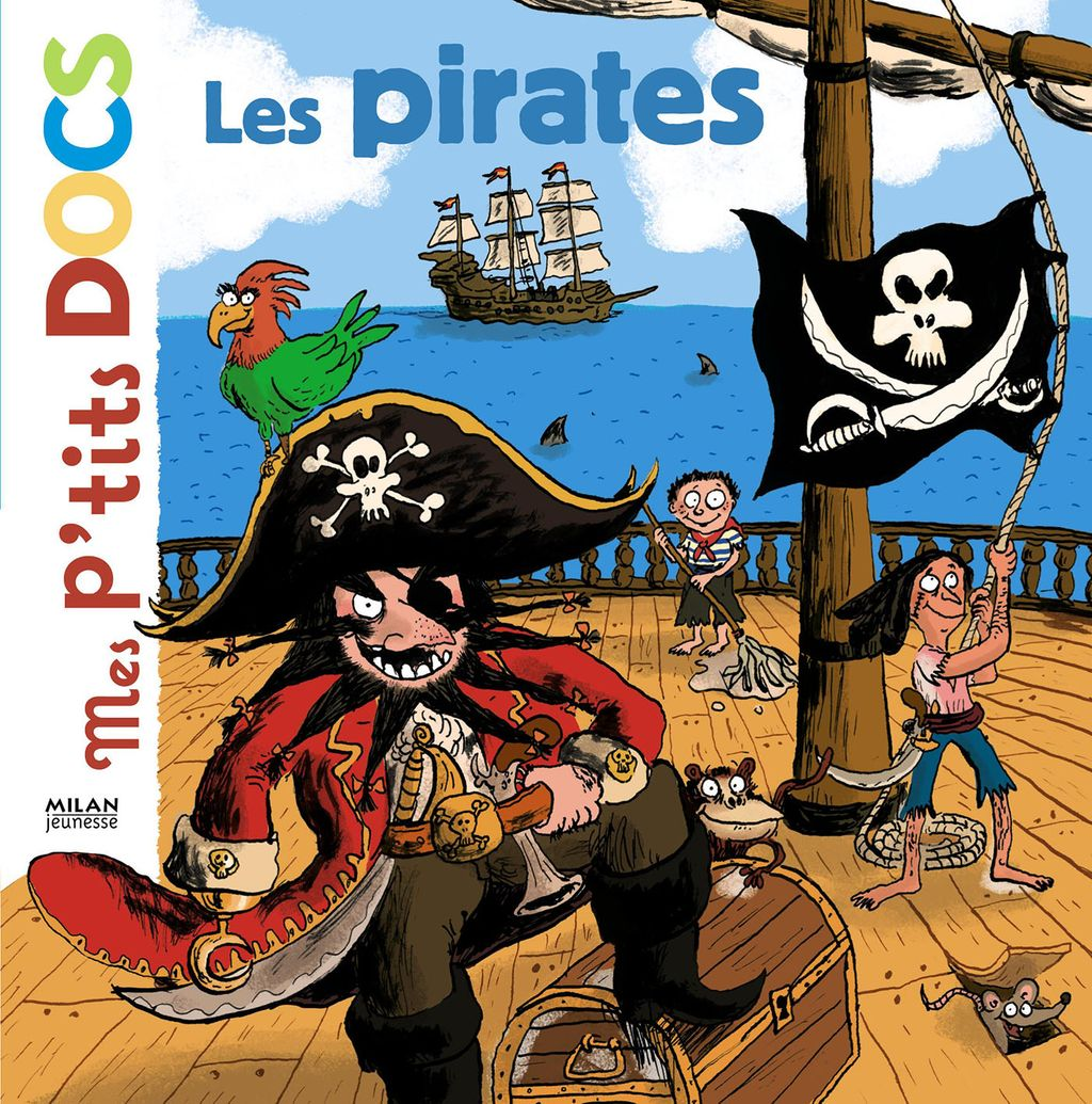 « Les pirates » cover