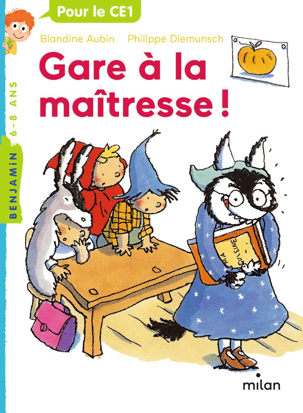 «Gare à la maîtresse» cover