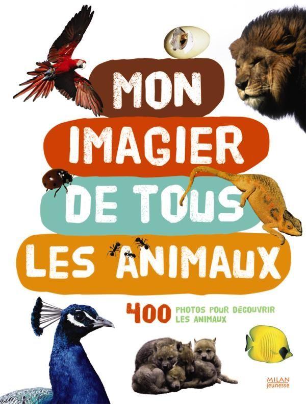 Couverture de «Mon imagier de tous les animaux, 400 photos pour découvrir les animaux»