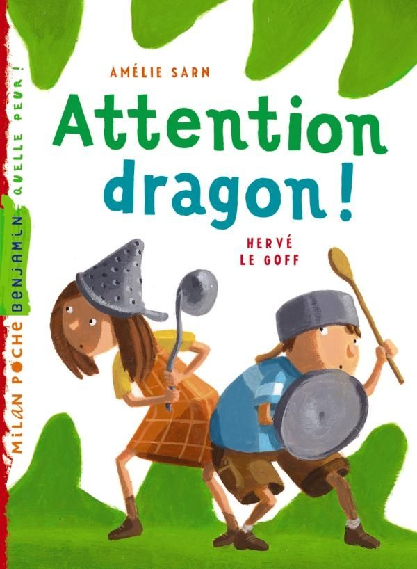 Couverture de « Attention, dragon ! »