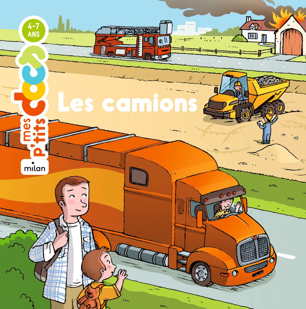 « Les camions » cover