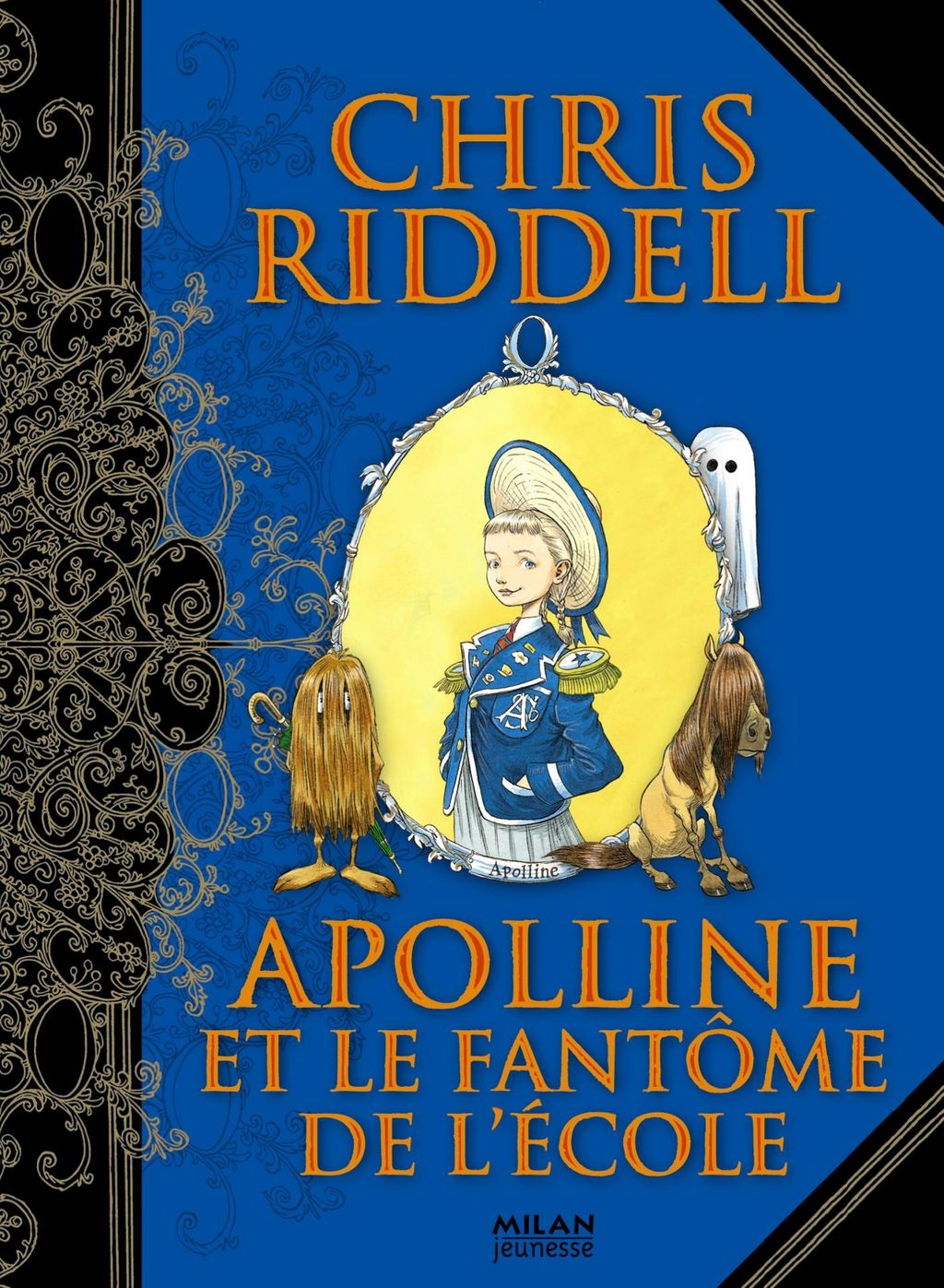 Couverture de «Apolline et le fantôme de l'école»