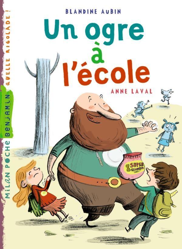 «Un ogre à l'école» cover