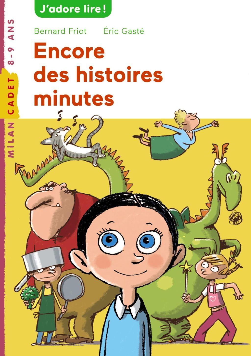 «Encore des histoires minute» cover