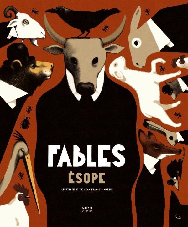 «Fables d'Ésope» cover