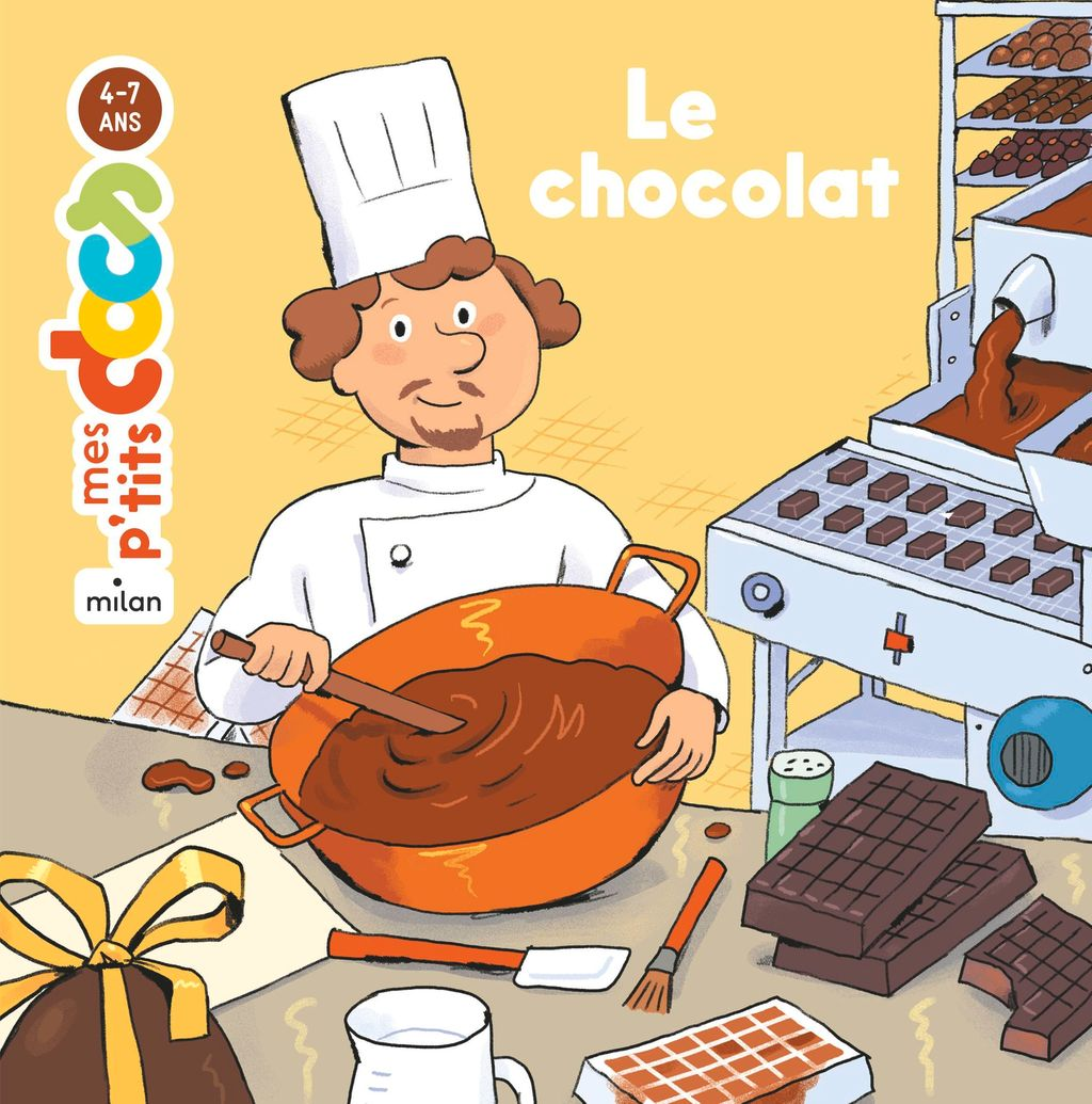 « Le chocolat » cover
