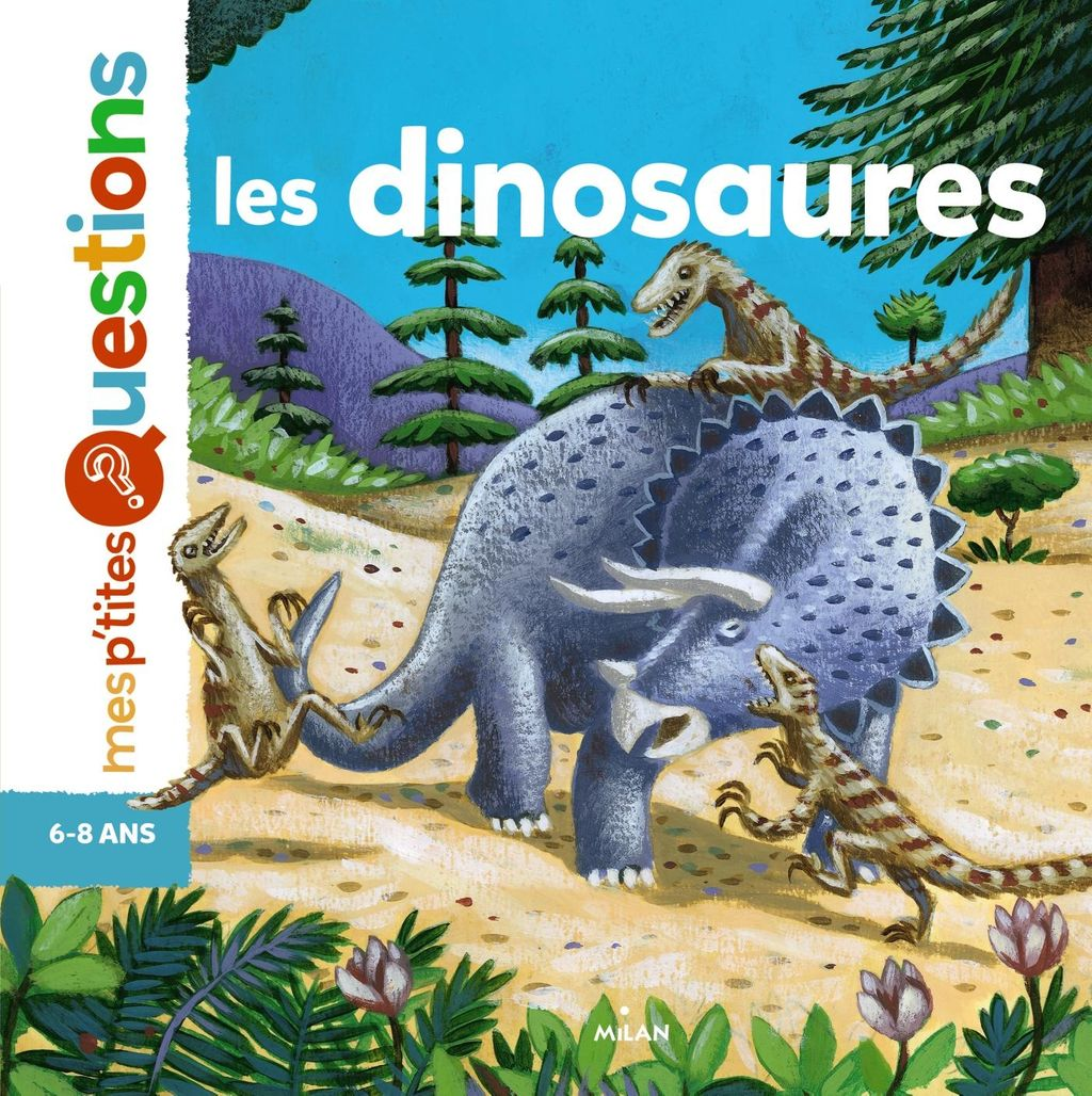« Les dinosaures » cover