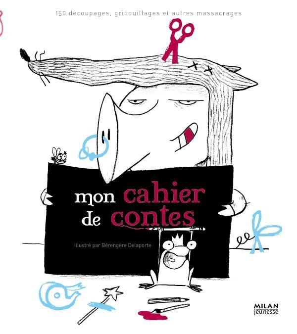 «Mon cahier de contes» cover