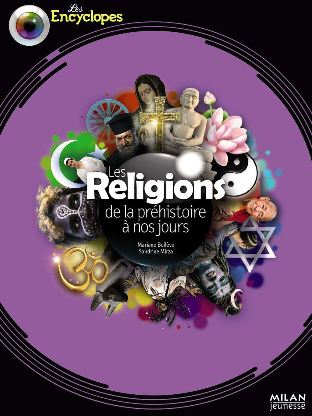Couverture de «Les religions de la préhistoire à nos jours»