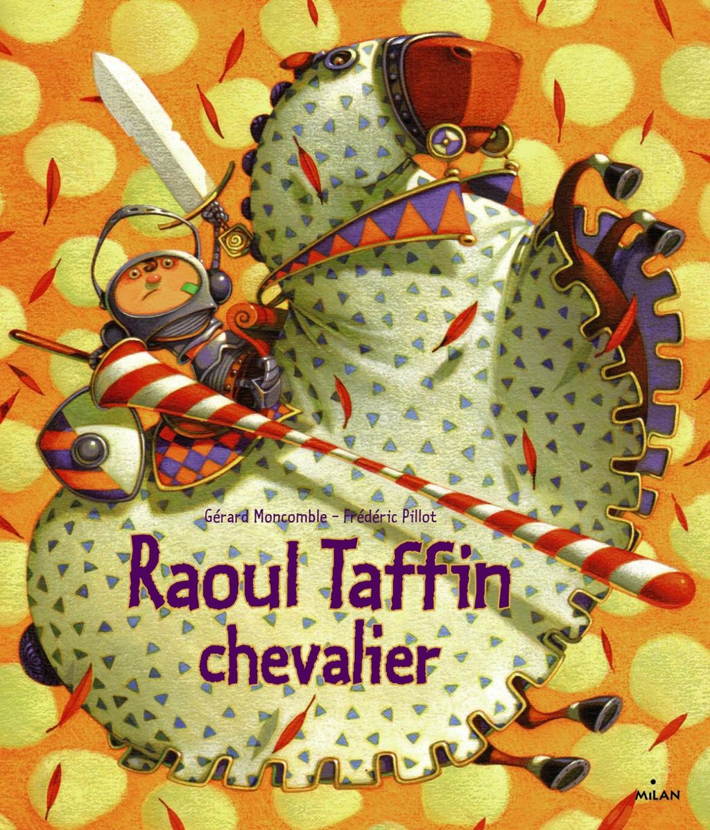 Couverture de « Raoul Taffin chevalier »
