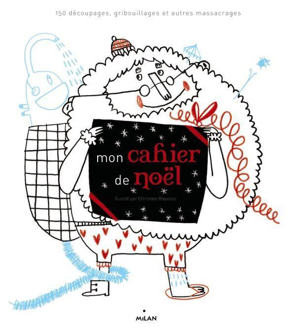 Couverture de «Mon cahier de Noël»