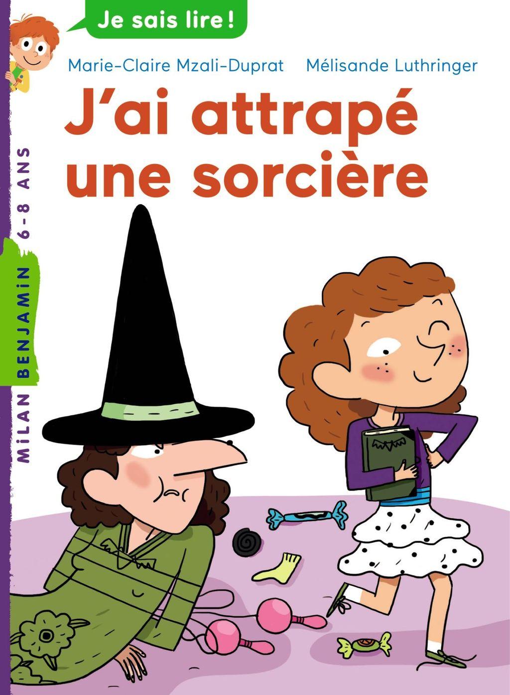 «J'ai attrapé une sorcière» cover