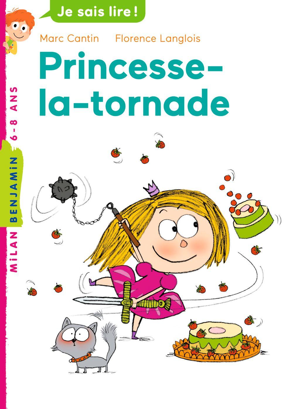 Couverture de «Princesse la tornade»