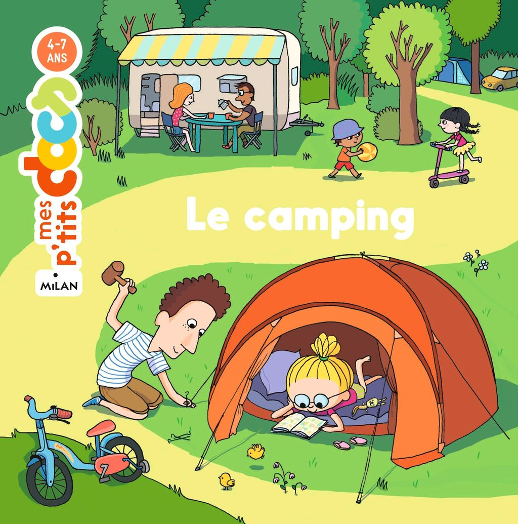 « Le camping » cover