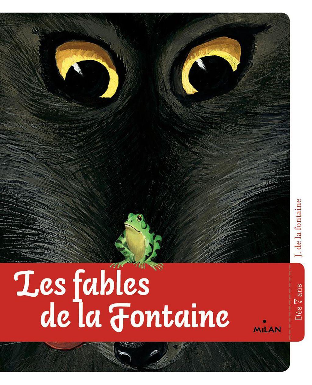 Couverture de «Les fables de La Fontaine»