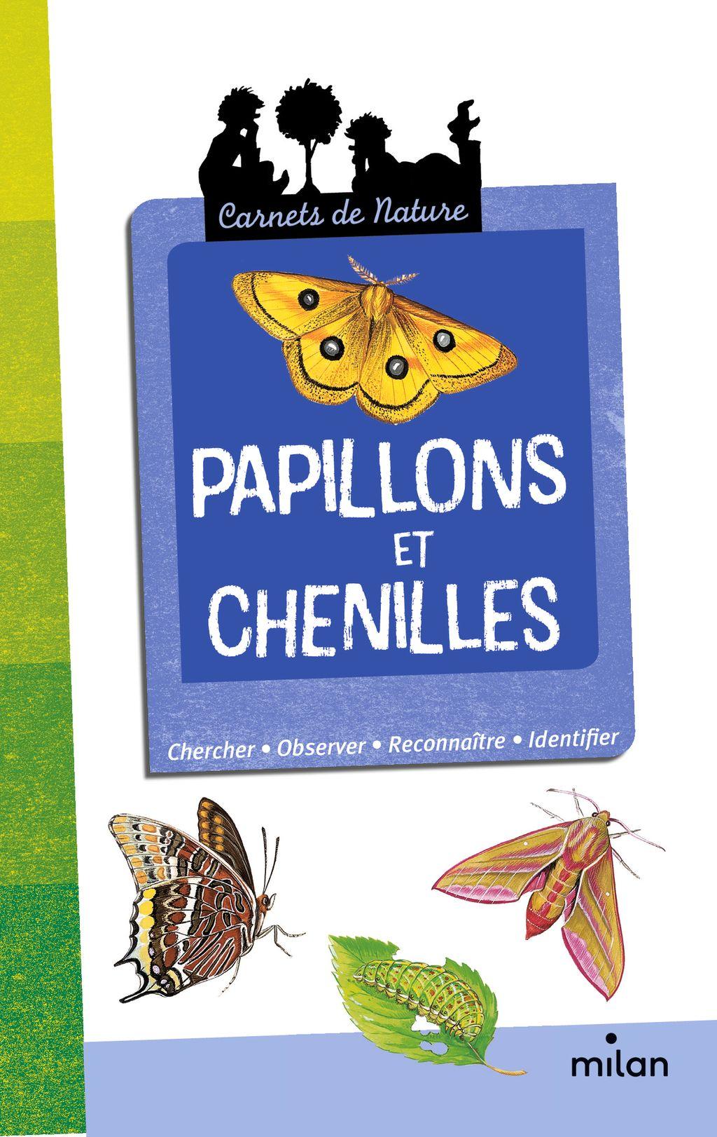 Couverture de «Papillons et chenilles»