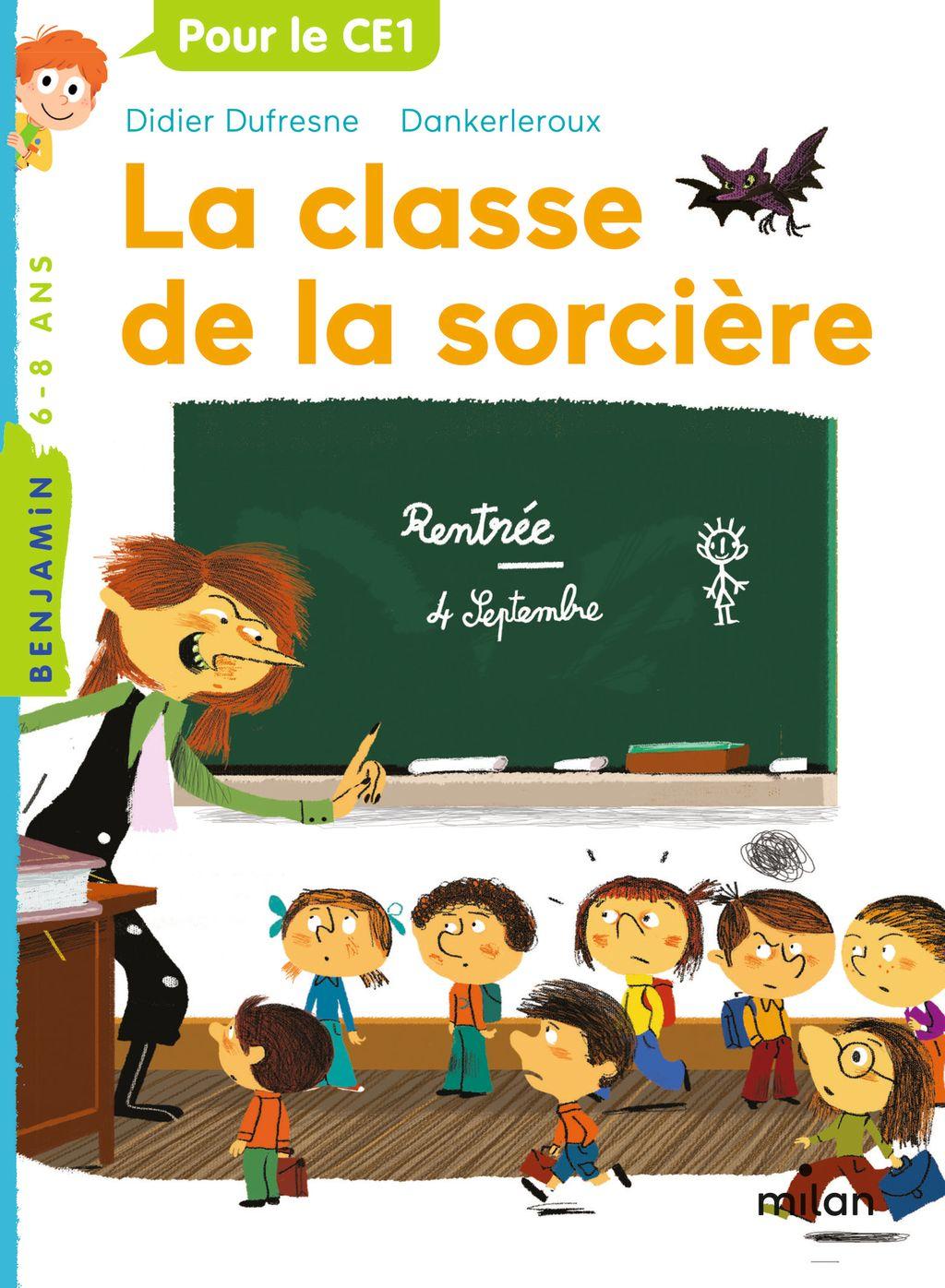 «La classe de la sorcère» cover