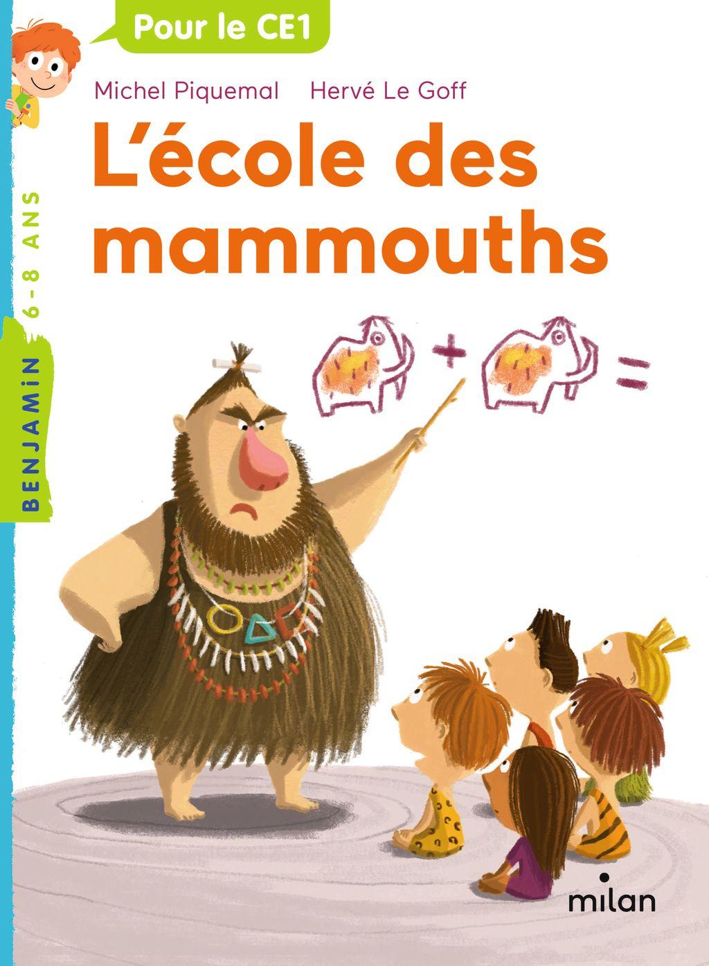 Couverture de «L'école des mammouths»