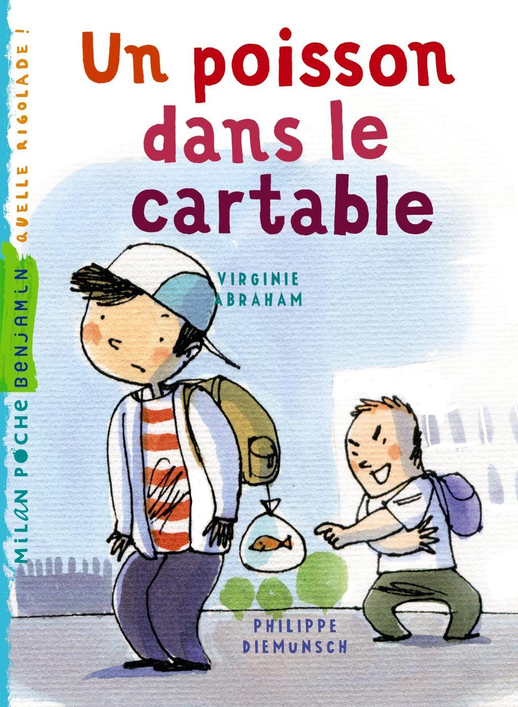 «Un poisson dans le cartable» cover